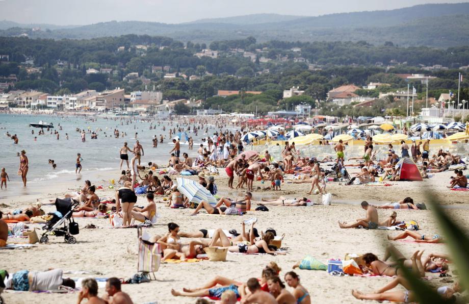 Une plage azuréenne