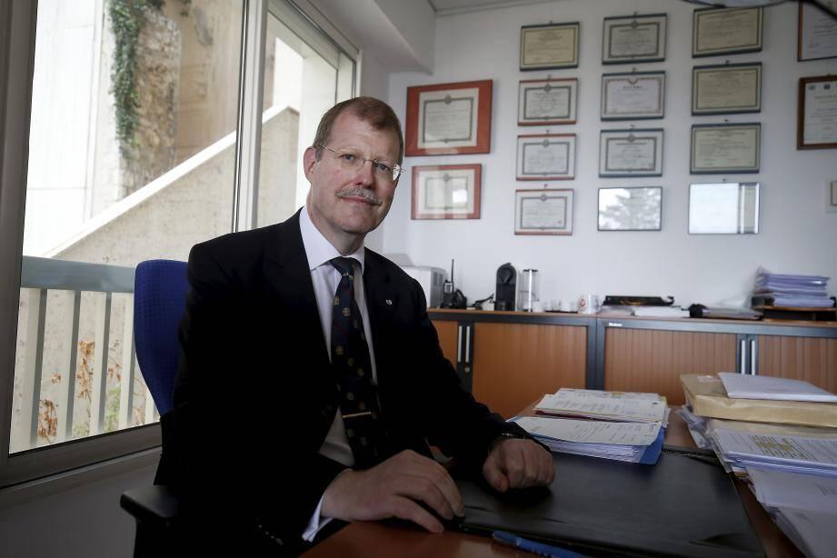 Le Dr Eric Voiglio, médecin inspecteur de Santé publique à Monaco.
