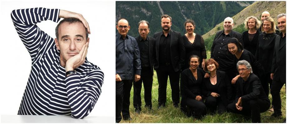 Elie Semoun et l'ensemble Musiquatreize se produiront sur la scène de l'Auditorium Chabran à Draguignan.
