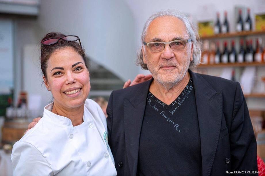 Ilham Souini et Jean-François Régis. Une bien belle coopération.