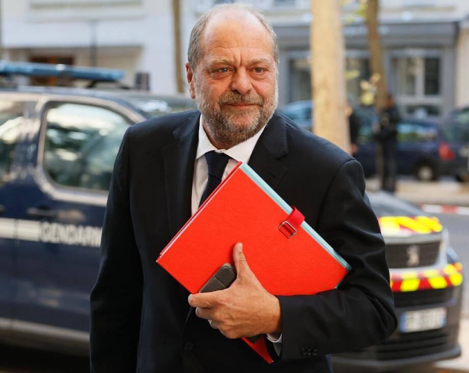 Le garde des Sceaux Eric Dupond-Moretti, le 11 juillet 2020 à Paris