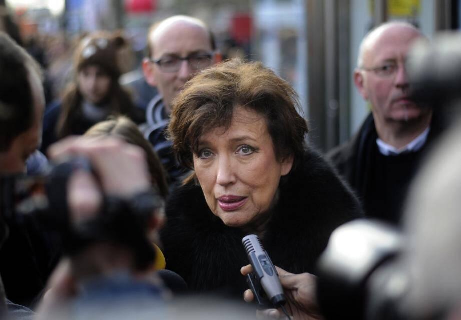 Roselyne Bachelot nommée ministre de la Culture, à Paris le 16 décembre 2012