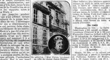 La veuve Portois dans Le Petit Journal du 15 décembre 1927.