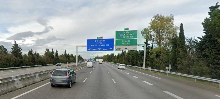 Illustration autoroute A7.