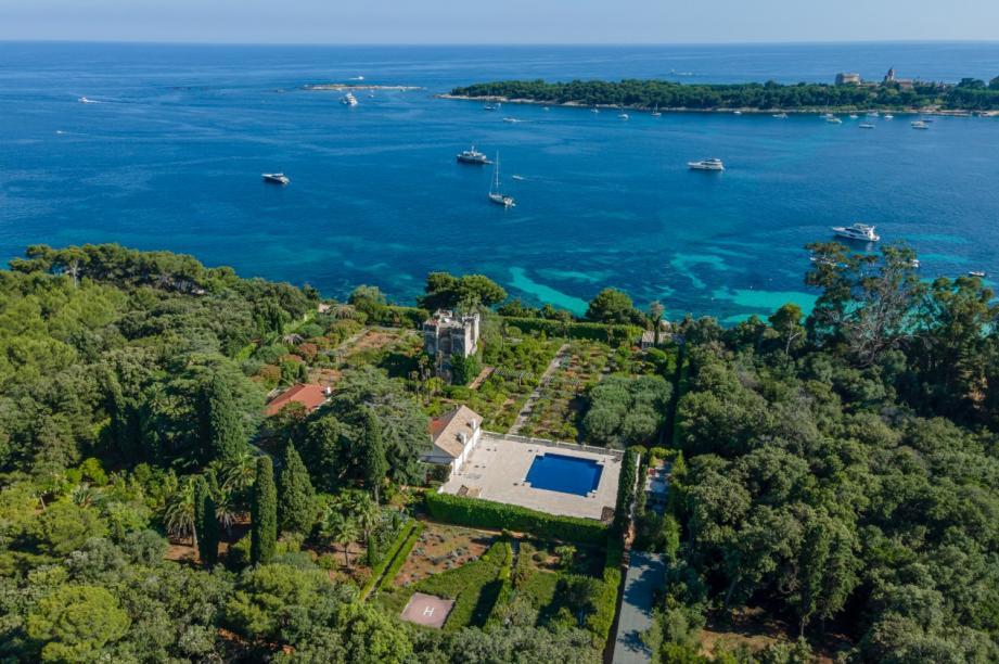 Le Grand jardin, propriété d'exception sur l'île Sainte-Marguerite.