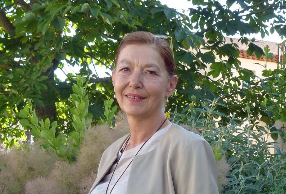 Sylvie Jarier vit depuis quinze ans dans une grande propriété située de l'autre côté du village et uniquement accessible en passant par Cogolin.