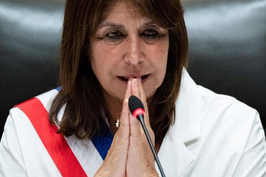 Tout juste élue maire de Marseille, Michèle Rubirola le 4 juillet 2020