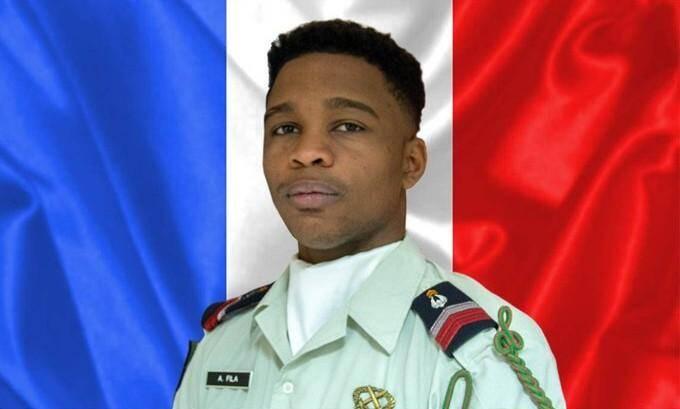 Le brigadier-chef Andy Fila, mort ce vendredi au Tchad.