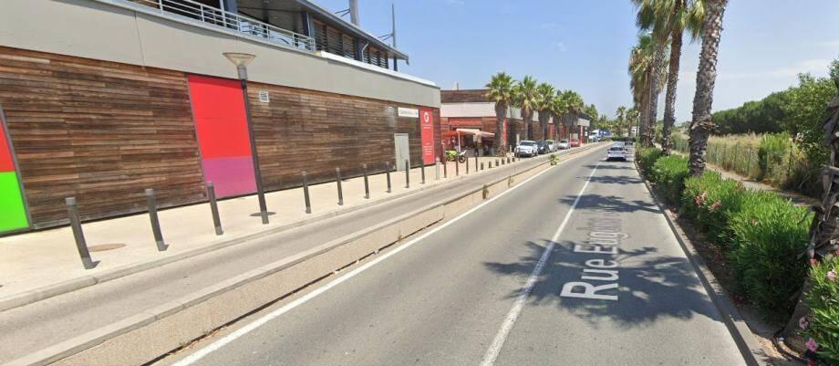 L'accident a eu lieu avenue Eugène-Joly à Fréjus. Illustration.