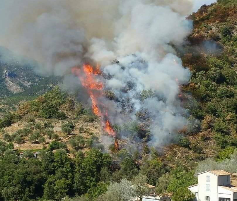 L 'incendie de Lucéram avait détruit 150 hectares en 2017.