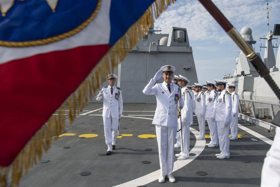 Un nouveau commandant pour la frégate de défense aérienne Chevalier Paul.