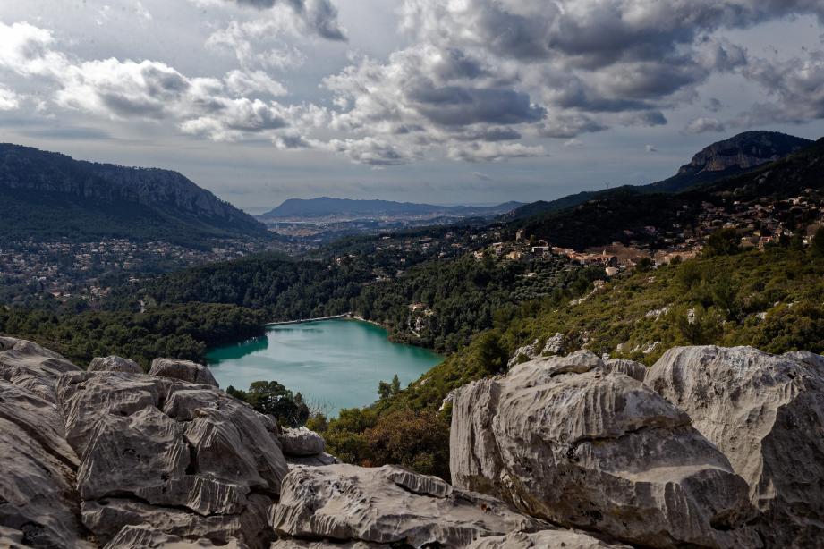 Actuellement, la métropole toulonnaise est essentiellement alimentée par le barrage de Carcès et celui de Dardennes (ici en photo).