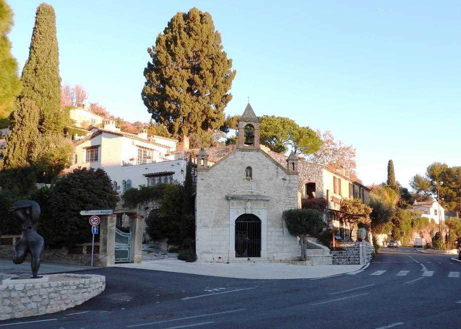 La chapelle Sainte-Claire, monument emblématique de Saint-Paul-de-Vence, bientôt restaurée.