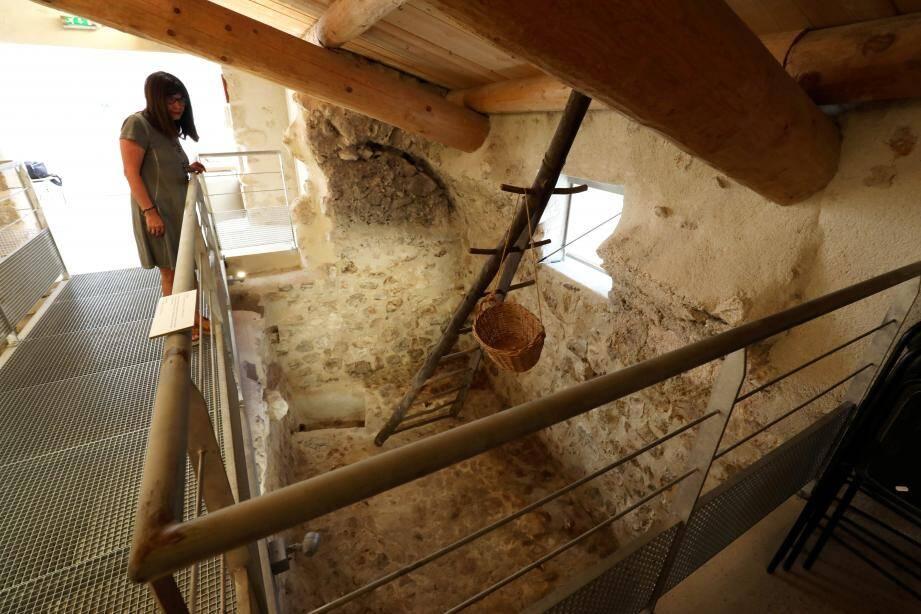 L'ancien moulin à huile fait partie du patrimoine provençal.