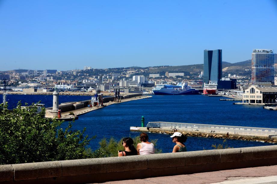 Vue générale sur Marseille