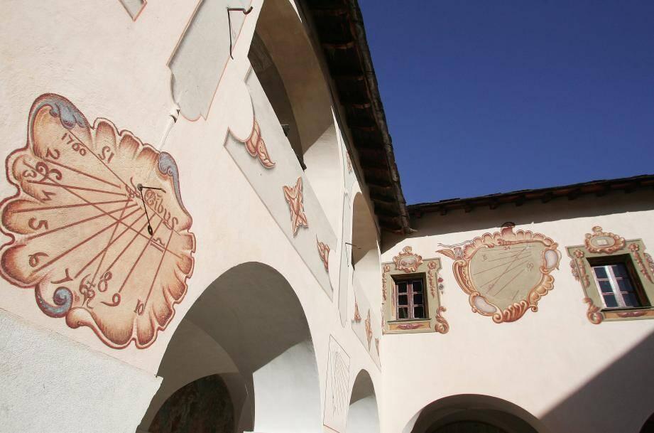 Au programme, des escapades baroques comme la découverte du spectaculaire monastère des Franciscains à Saorge.