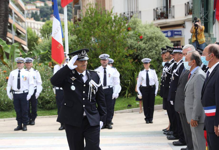A 41 ans, Abdel Bouzelmat occupe son premier poste en tant que commissaire.