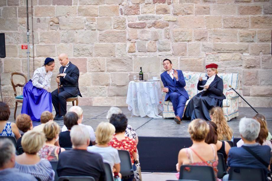 Le Festival de théâtre s'étend jusqu'au 29 juillet à Fréjus.