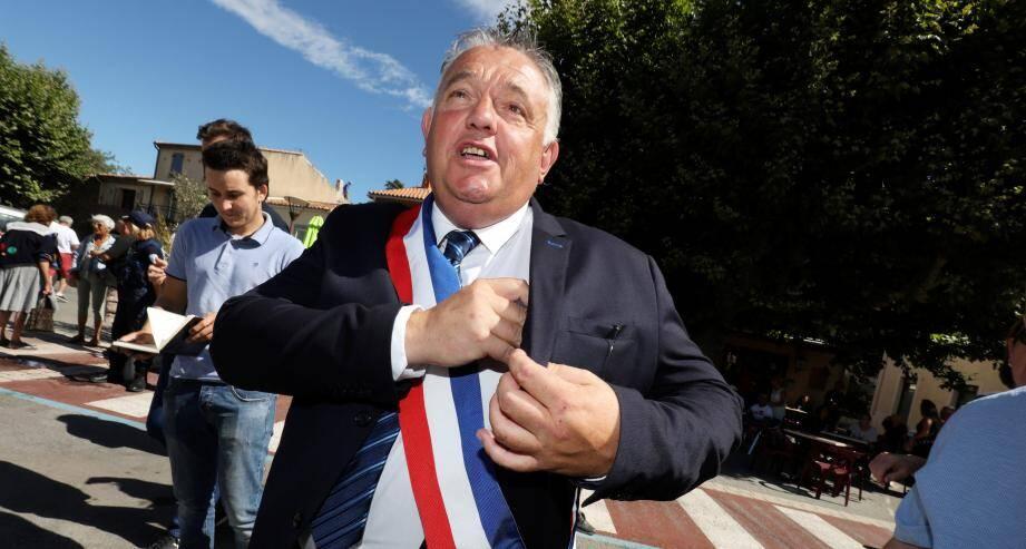 Jean Cayron, nouveau maire de Roquebrune-sur-Argens.