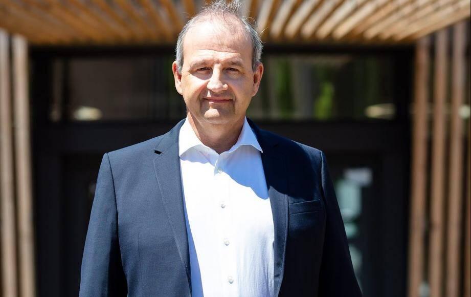 José Santucci, directeur général du Crédit agricole Provence-Côte d'Azur