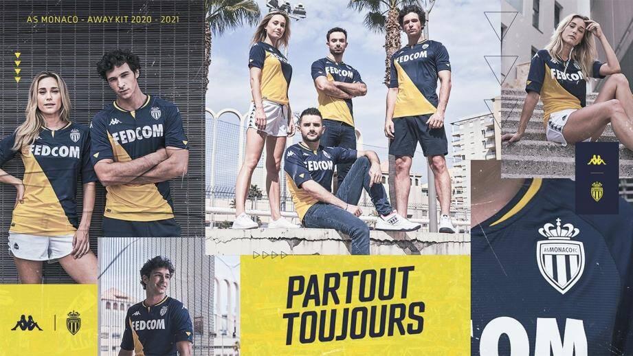 Le maillot est en vente dans les boutiques du club mais aussi sur le site internet.