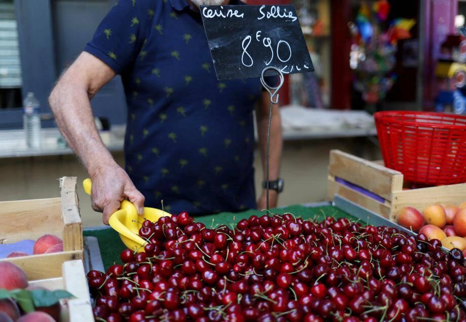Sur le marché de Toulon.