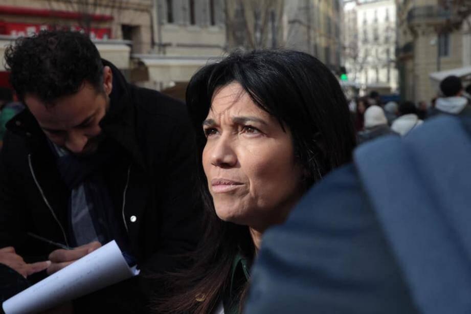 La sénatrice socialiste Samia Ghali, arbitre de l'élection municipale à Marseille.