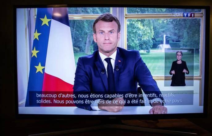 Depuis le début de la crise du coronavirus, les discours du président de la République sont intégralement retranscrits en direct.