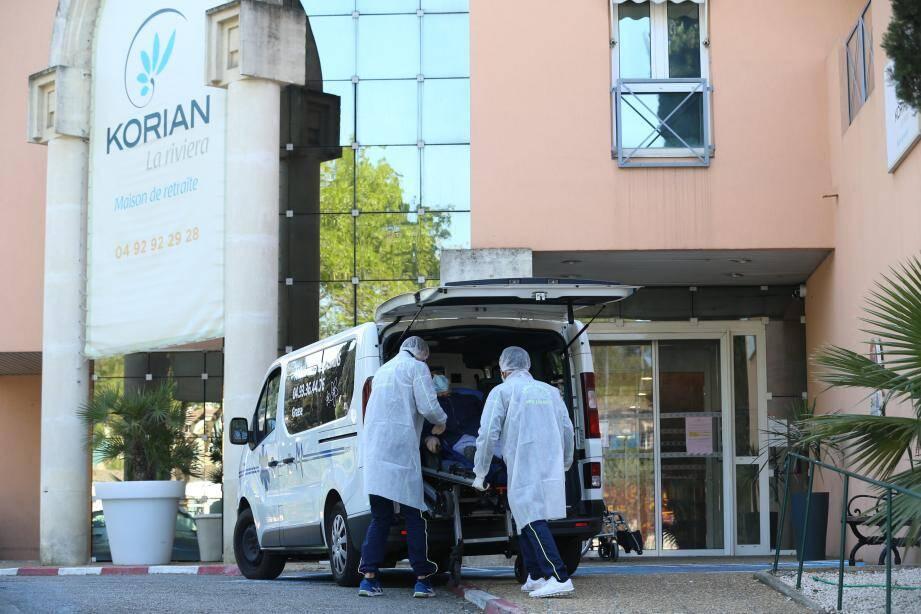 A l'Ehpad Korian Riviera de Mougins, 34 résidents sont décédés pendant la crise du coronavirus.