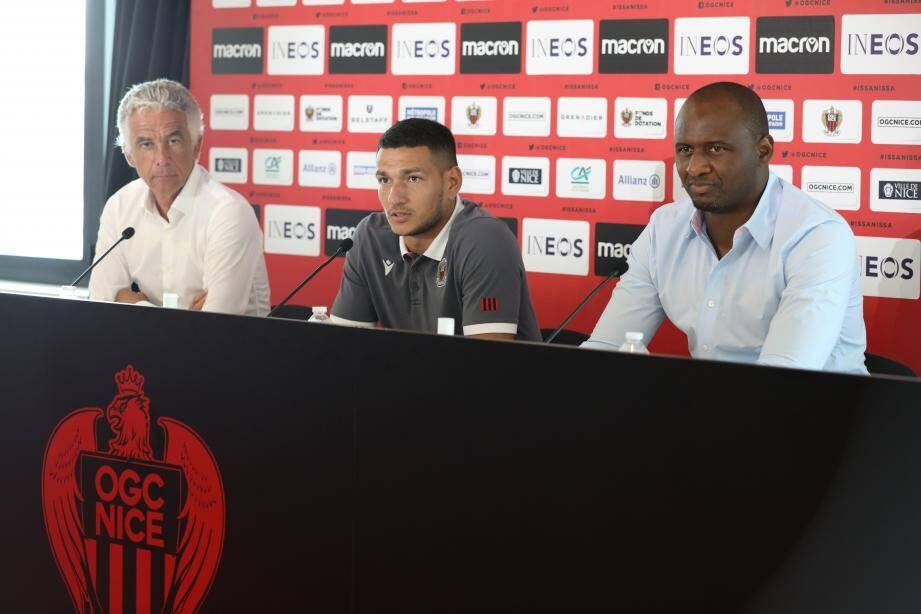 Le nouvel attaquant de l'OGC Nice Rony Lopes rejoindra ses coéquipiers au cours du stage.