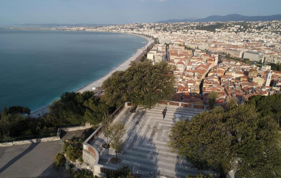Vue sur Nice.