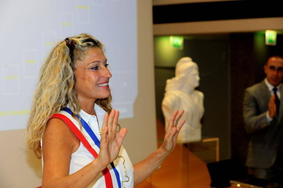 Nathalie Bicais, nouvelle maire de La Seyne-sur-Mer.