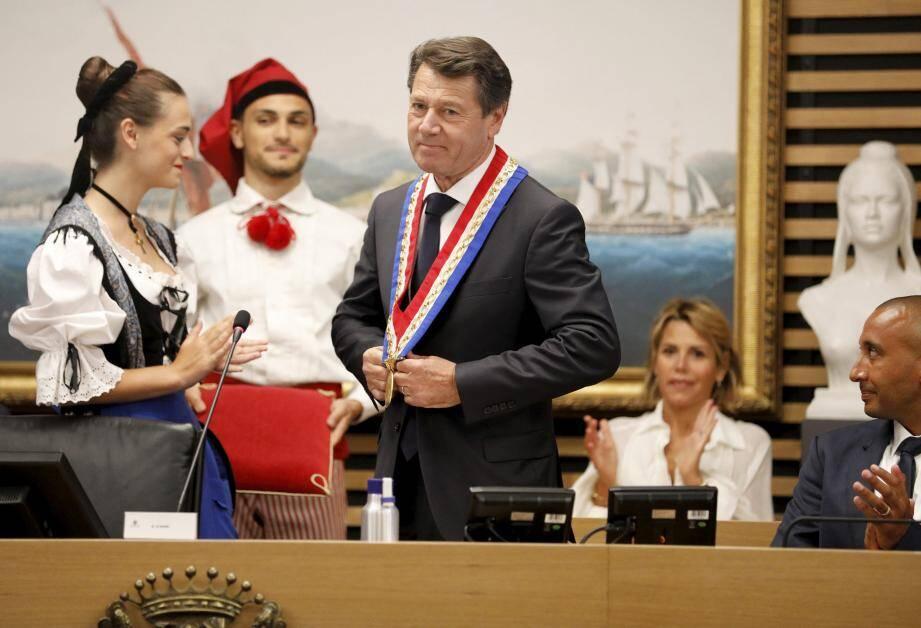 Pour la troisième fois, Christian Estrosi est élu maire de Nice.