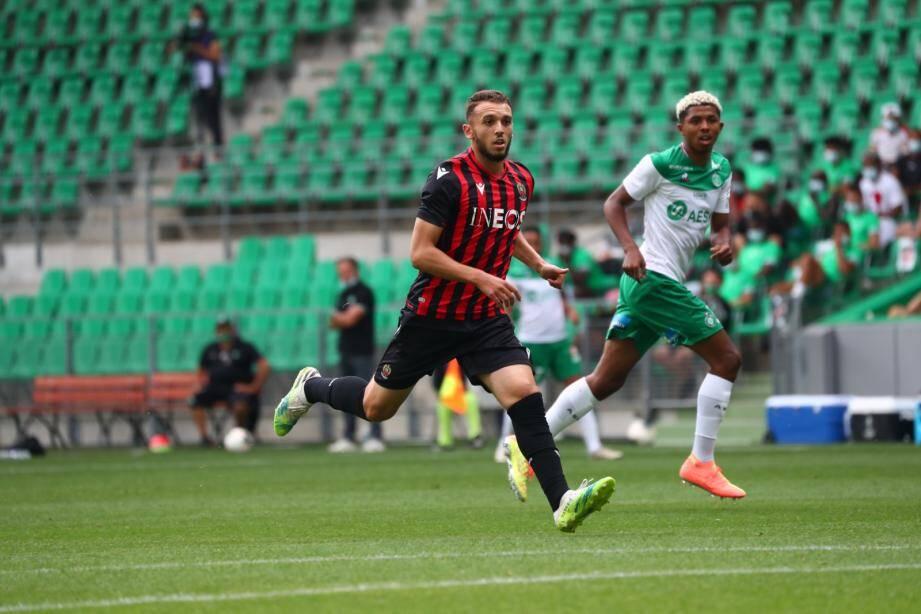 Les Niçois battus 4-1 par Saint-Etienne.