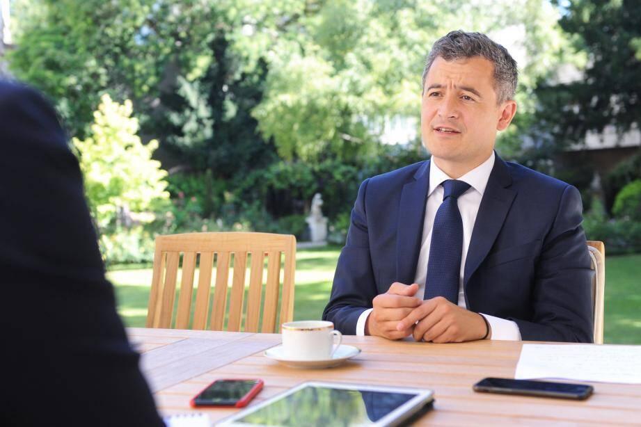 Sur tous les fronts depuis sa nomination, le nouveau ministre de l'Intérieur sera ce lundi dans les Alpes-Maritimes.