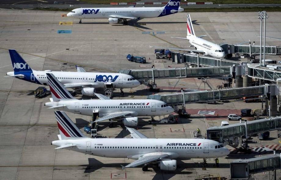 L'aéroport de Roissy-Charles-de-Gaulle.
