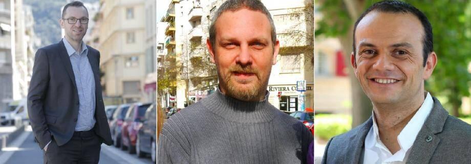 De gauche à droite: Xavier Garcia, Philippe Pellegrini et Laurent Lanquar.