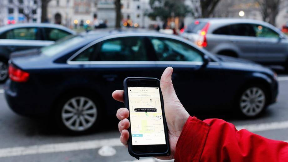 Le chauffeur Uber a vu rouge.