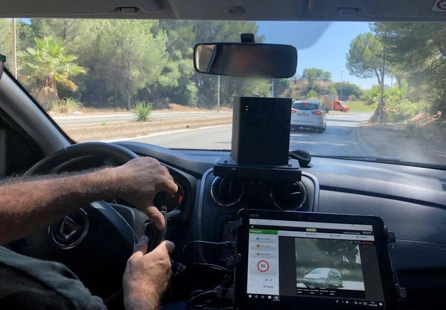 Huit radars embarqués sillonnent les routes du Var.