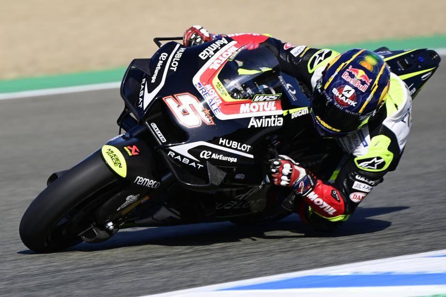 Le revenant cannois Johann Zarco a su tirer la quintessence de sa Ducati : cinquième pole position dans la catégorie reine !