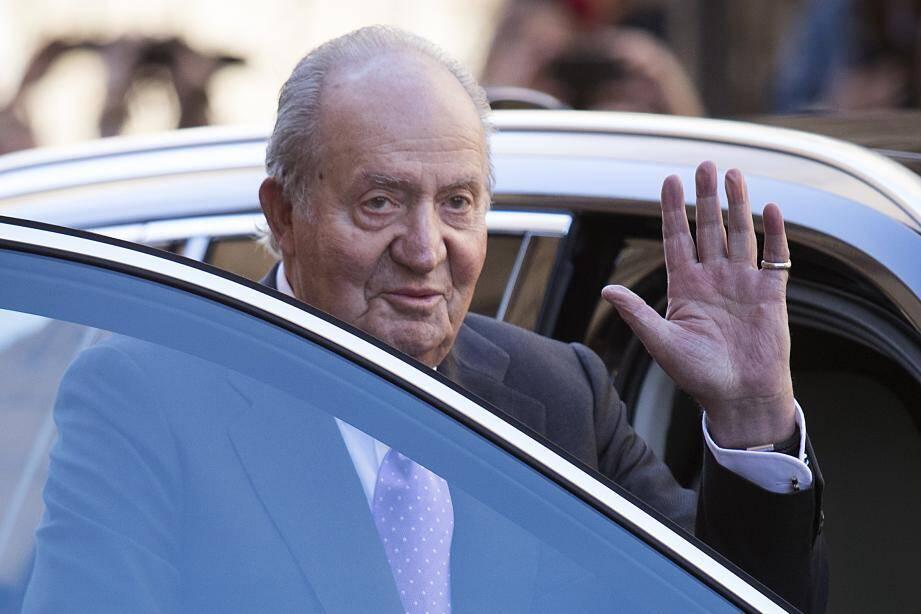 Juan Carlos quitte l'Espagne.