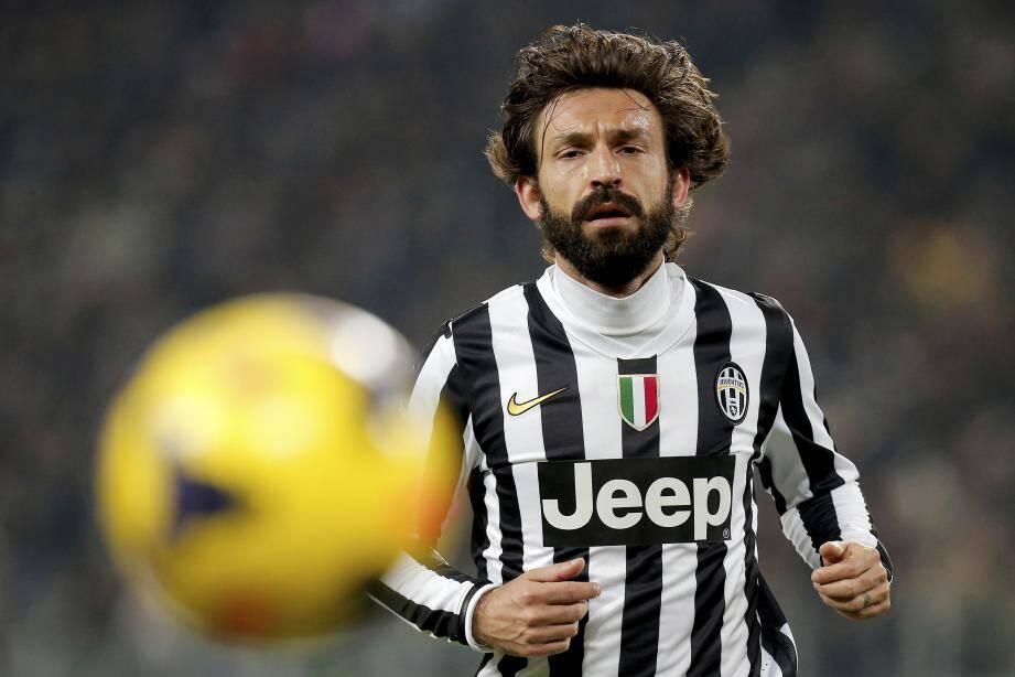 Andrea Pirlo, ancien milieu de terrain de la Juve, ici le 23 février 2014.