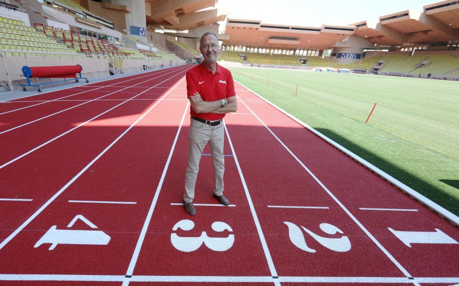 Jean-Pierre Schoebel, directeur du meeting Herculis de Monaco, attend 5000 spectateurs ce soir.