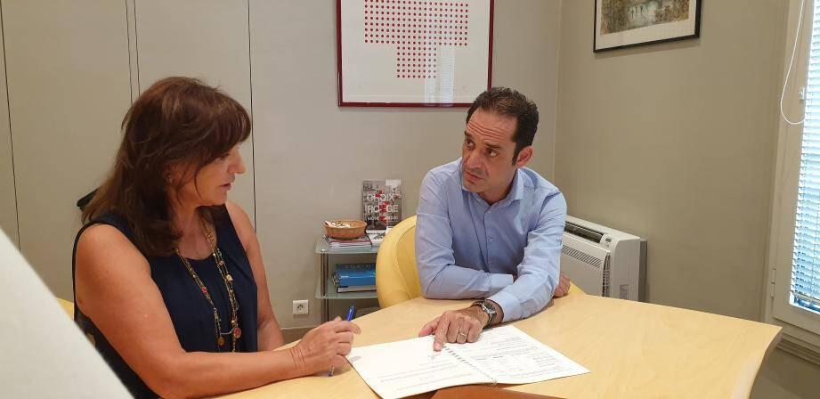 """La trésorière de la CRM, Bettina Ragazzoni, et le secrétaire général, Frédéric Platini, iront """"jusqu'au bout""""."""