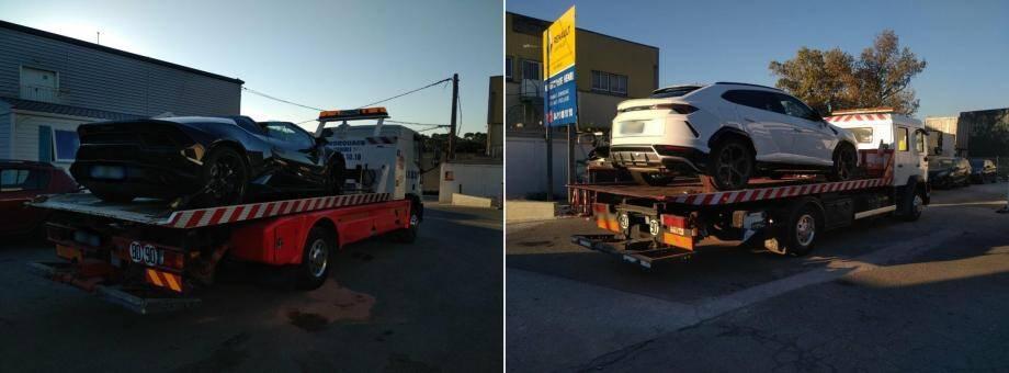 Les deux véhicules saisis ont été envoyés à la fourrière.