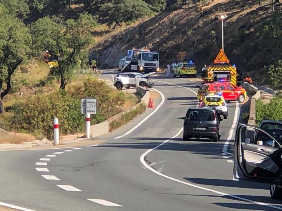 Un homme est décédé dans l'accident qui s'est produit ce samedi matin.