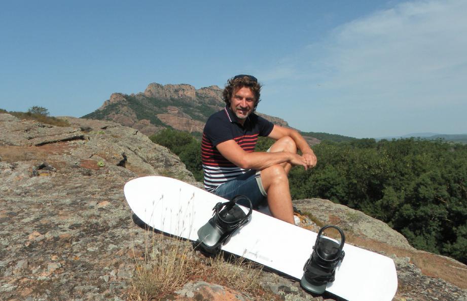 Mathieu Bozzetto est attaché à sa commune et à son rocher.