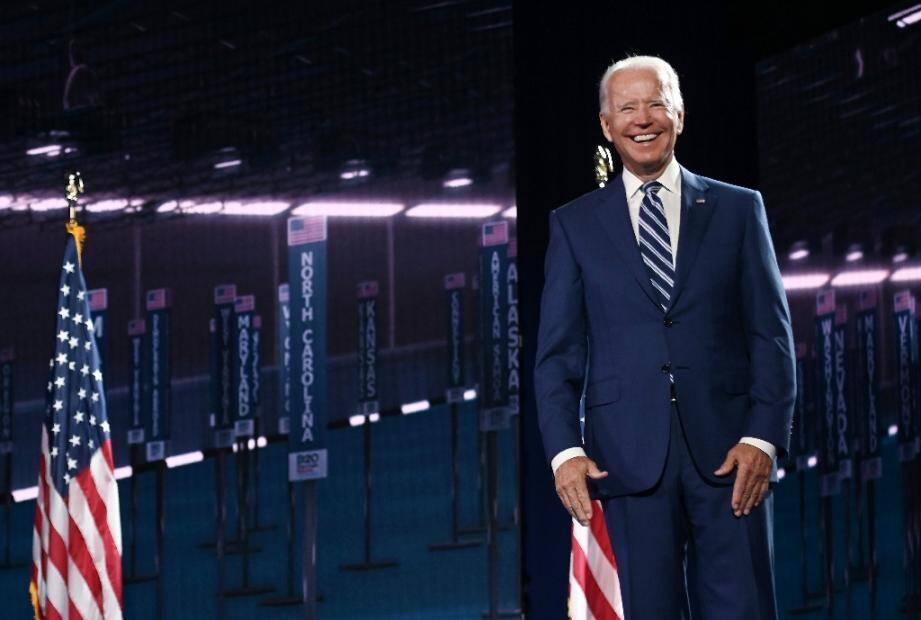 Joe Biden à Wilmington le 19 août 2020.