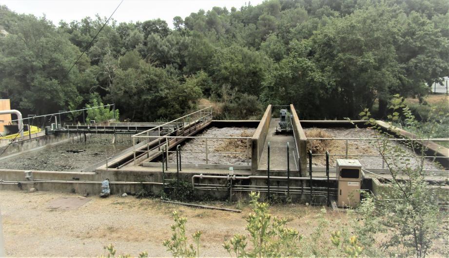 La station d'épuration est saturée et subit d'importantes pannes.