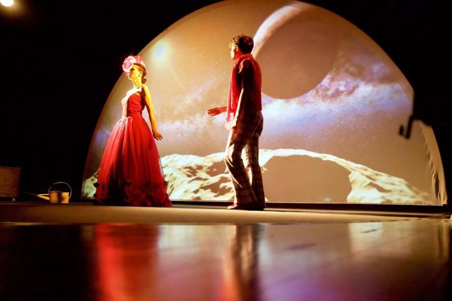Coproduite par le Théâtre de Grasse, la pièce avait été jouée en novembre dernier à L'ECA 500.